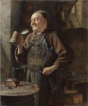 Eduard Von Grutzner reproductions - The Brewmaster