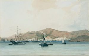 Reproduction oil paintings - Jean-Michel Cazabon - Charlotte Amalie, St. Thomas