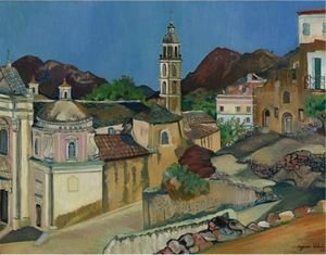 Reproduction oil paintings - Suzanne Valadon - Eglise De Belgodere, Corse