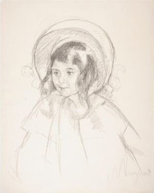 Reproduction oil paintings - Mary Cassatt - Sara Wearing Her Bonnet And Coat