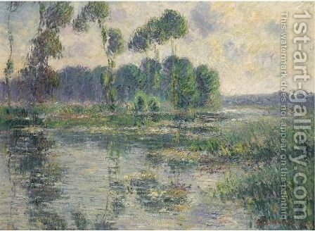 Bords De L'Eure, Saint-Cyr-Du-Vaudreuil by Gustave Loiseau - Reproduction Oil Painting