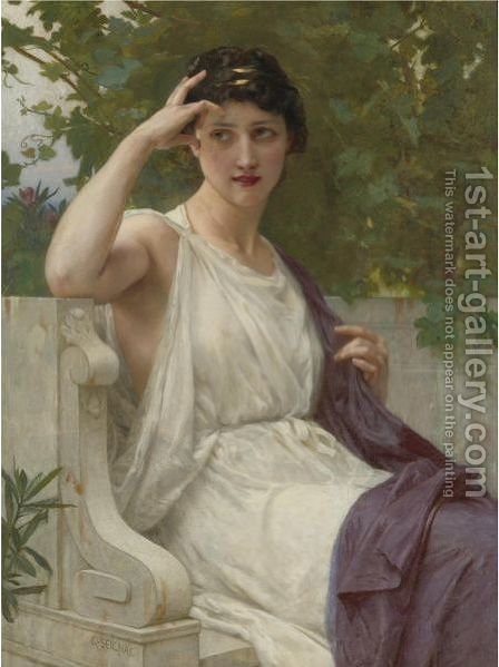 Happy Thoughts by Guillaume Seignac - Reproduction Oil Painting