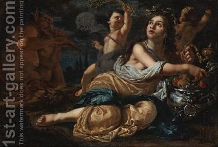 Ceres by Alessandro Rosi - Reproduction Oil Painting