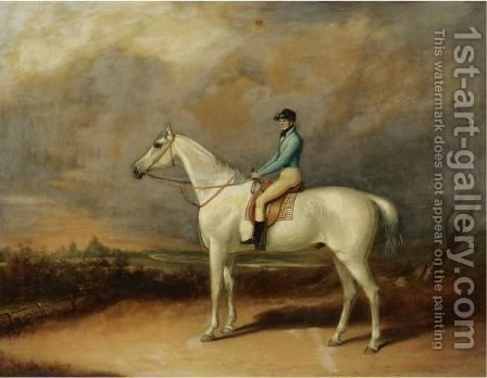 The Racehorse Pilot by (after) Henry Alken - Reproduction Oil Painting