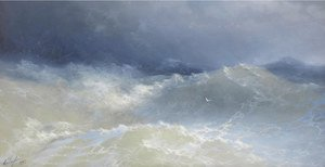 Reproduction oil paintings - Ivan Konstantinovich Aivazovsky - Among The Waves