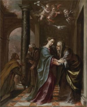 Reproduction oil paintings - Juan de Valdes Leal - The Visitation