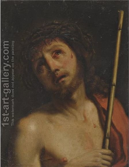 Christ Crowned With Thorns by (after) Giovanni Francesco Guercino (BARBIERI) - Reproduction Oil Painting