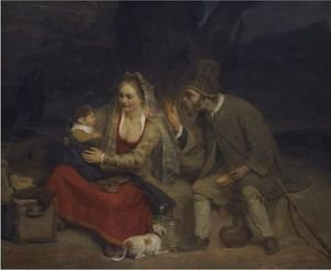 Reproduction oil paintings - Aert De Gelder - The Rest On The Flight Into Egypt