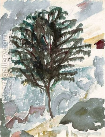 Tree by Giovanni Giacometti - Reproduction Oil Painting