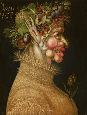 Famous paintings of Vegetables: Summer 1563
