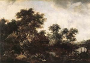 Famous paintings of Mills: The Water Mill