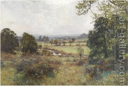 Blackmore Vale, Dorset by Henry John Yeend King - Reproduction Oil Painting