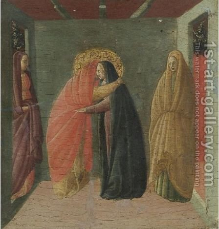 The Visitation by Italian Unknown Master - Reproduction Oil Painting