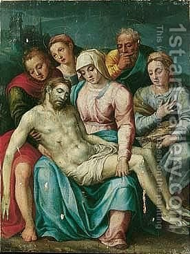Pieta by (after) Francesco Vanni - Reproduction Oil Painting