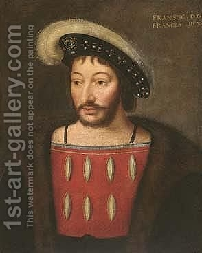 Portrait of a man 2 by (after) Cleve, Joos van - Reproduction Oil Painting