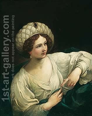 A Sibyl 2 by (after) Guido Reni - Reproduction Oil Painting