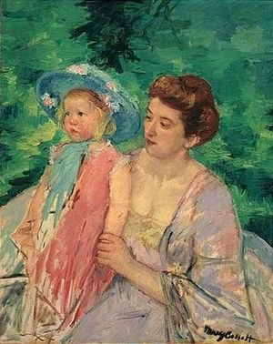 Reproduction oil paintings - Mary Cassatt - Untitled 3
