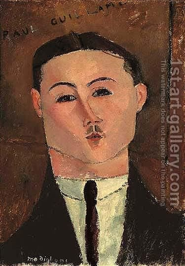 Paul Guillaume 2 by Amedeo Modigliani - Reproduction Oil Painting