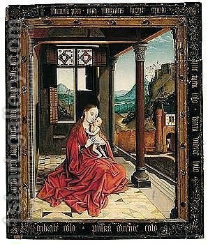 Praise Of The Virgin by (after) Rogier Van Der Weyden - Reproduction Oil Painting