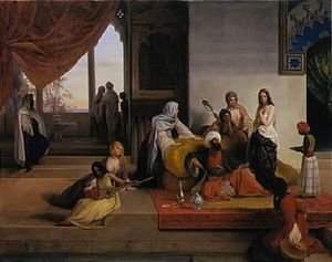 Reproduction oil paintings - Francesco Paolo Hayez - Nell'Harem