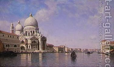 The Grand Canal, Venice 2 by Amédée Rosier - Reproduction Oil Painting