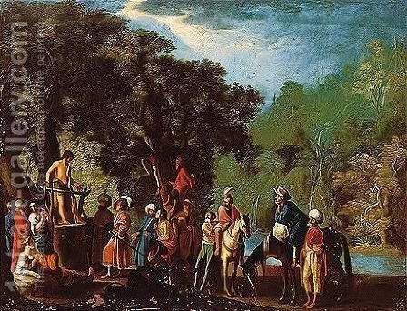 Provenance by (after) David The Elder Teniers - Reproduction Oil Painting