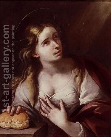The Magdalen by (after) Murillo, Bartolome Esteban - Reproduction Oil Painting
