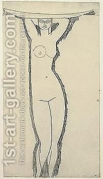 Female nude by Amedeo Modigliani - Reproduction Oil Painting