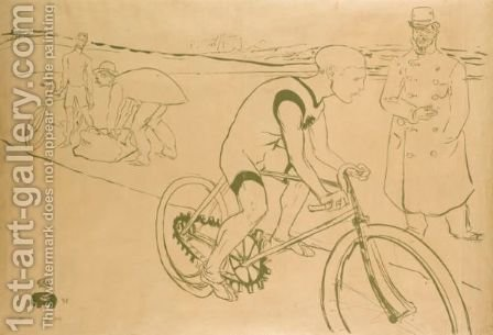 Cycle Michael 2 by Toulouse-Lautrec - Reproduction Oil Painting