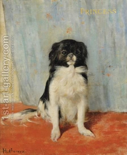 Portrait Of Princess by Henri Gervex - Reproduction Oil Painting