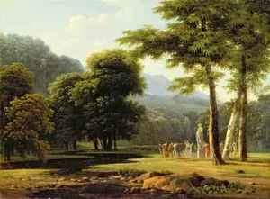 Reproduction oil paintings - Jean-Victor Bertin - Landscape