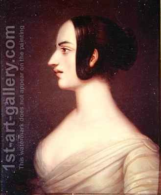 Marie Taglioni (1804-84) by J. Bert - Reproduction Oil Painting