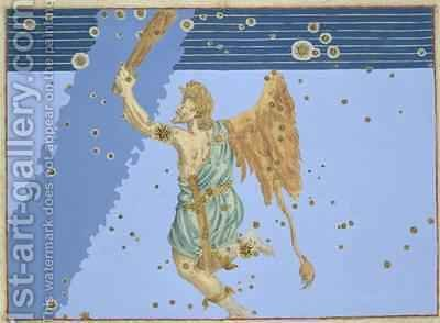 Constellation of Orion, from 'Uranometria' by (after) Bayer, Johann - Reproduction Oil Painting