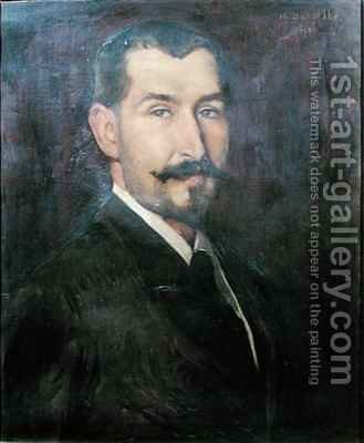 Bernard-Jean Antoine Marfan (1858-1942) by Henry Bataille - Reproduction Oil Painting