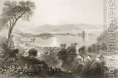 Larne, County Antrim, Northern Ireland by (after) Bartlett, William Henry - Reproduction Oil Painting
