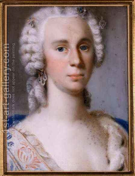 Philippine Antoinette by Gottlieb Friedrich Bach - Reproduction Oil Painting