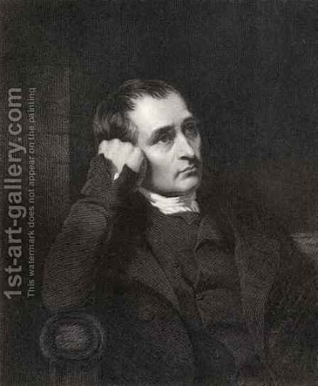 Samuel Crompton by (after) Allingham, Charles - Reproduction Oil Painting