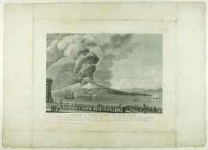 Neo-Classical painting reproductions: Eruption of Vesuvius