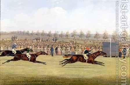 Racing Scene 3 by Henry Thomas Alken - Reproduction Oil Painting