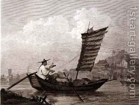 Economy of Time and Labour Exemplified in a Chinese Waterman by (after) Alexander, William - Reproduction Oil Painting