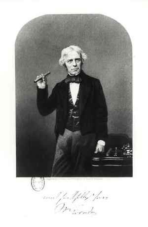 Neo-Classical painting reproductions: Portrait of Michael Faraday (1791-1867)