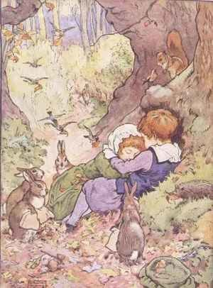 Babes in the Wood from 'My Nursery Story Book'
