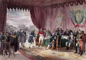 The Signing of the Treaty of Mortefontaine