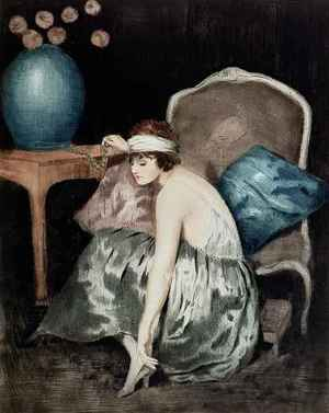 Famous paintings of Furniture: The Flapper