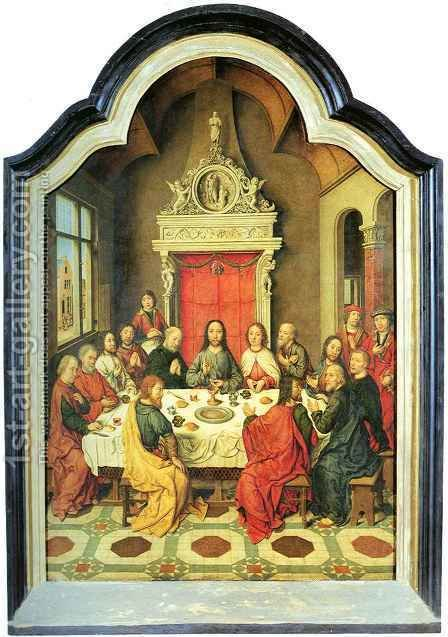 Last Supper by Aelbrecht Bouts - Reproduction Oil Painting