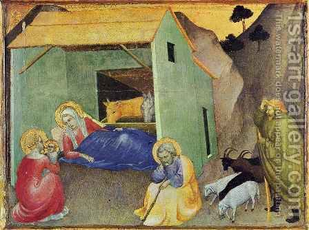Nativity by Giovanni Da Milano - Reproduction Oil Painting