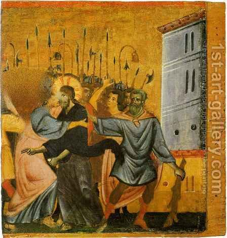 Betrayal of Christ by Guido Da Siena - Reproduction Oil Painting