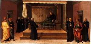 Saint Nicolas of Tolentino Restoring Two Partridges to Life