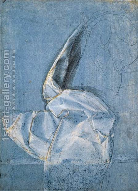 Study of Drapery 2 by Giovanni Antonio Boltraffio - Reproduction Oil Painting
