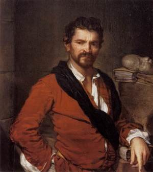 Famous paintings of Men: Portrait of Francesco Maria Bruntino